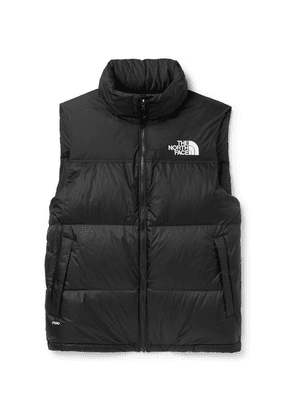 The North Face - 1996 Retro Nuptse Slim-fit Quilted Shell Down Gilet - Black
