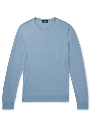 Dunhill - Slim-fit Wool Sweater - Blue