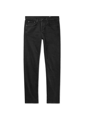 rag & bone - Fit 2 Slim-fit Stretch-denim Jeans - Black