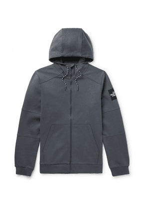 The North Face - Fine 2 Cotton-jersey Zip-up Hoodie - Gray