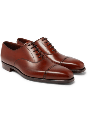 George Cleverley - Charles Cap-toe Leather Oxford Shoes - Brown
