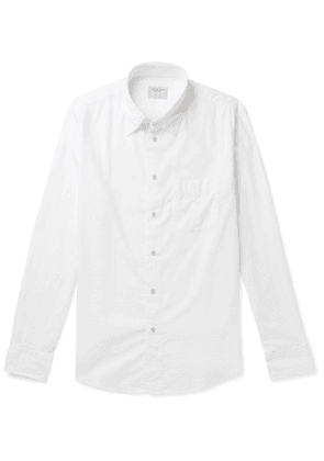 rag & bone - Standard Issue Beach Cotton Shirt - White