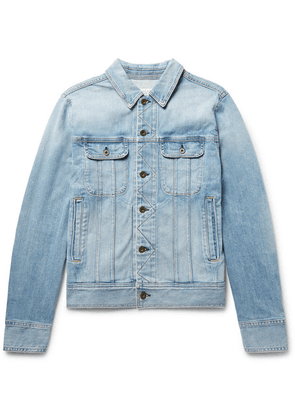 rag & bone - Faded Denim Jacket - Light denim