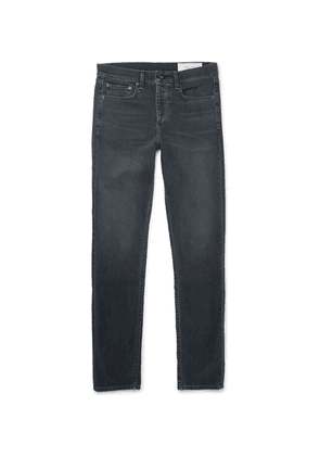 rag & bone - Fit 2 Slim-fit Stretch-denim Jeans - Gray