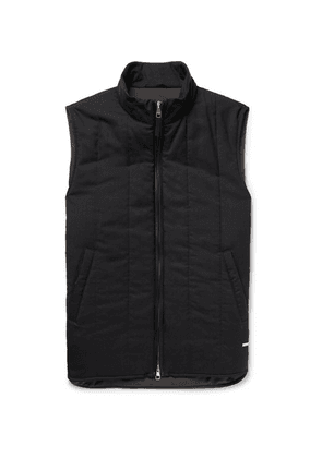 Dunhill - Quilted Cashmere Gilet - Midnight blue