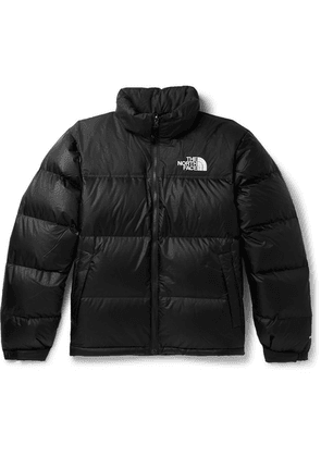 The North Face - 1996 Retro Nuptse Quilted Shell Hooded Down Jacket - Black