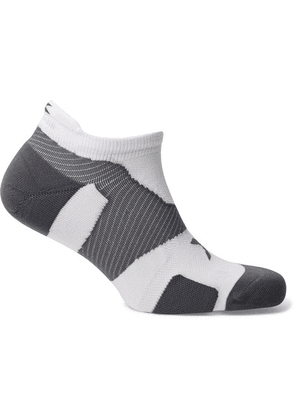 2XU - Vectr Cushioned Stretch-nylon No-show Socks - White