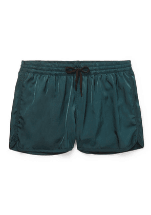 CDLP - + Grand Hotel Tremezzo Piscina Short-length Swim Shorts - Petrol