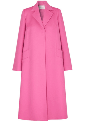 Carolina Herrera - Oversized Wool And Cashmere-blend Felt Coat - Pink