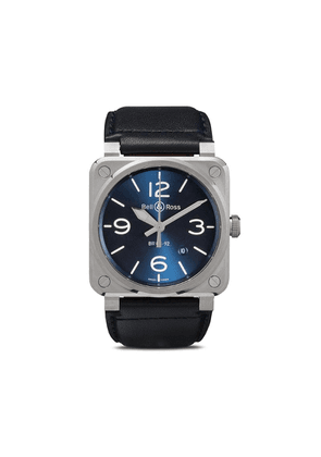 Bell & Ross BR 03-92 Blue Steel 42mm - Blue And Grey