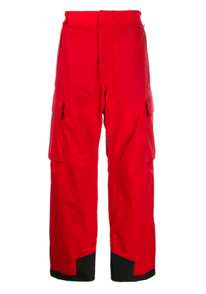 Moncler Grenoble Gortex snowboard pants - Red