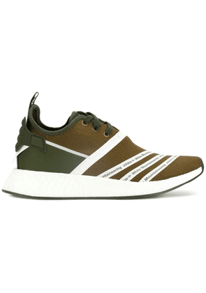 Adidas By White Mountaineering contrast sneakers - Green