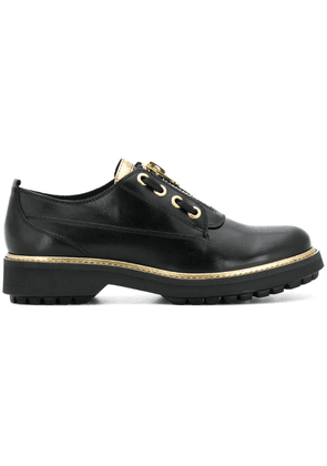 Geox platform lace up shoes - Black