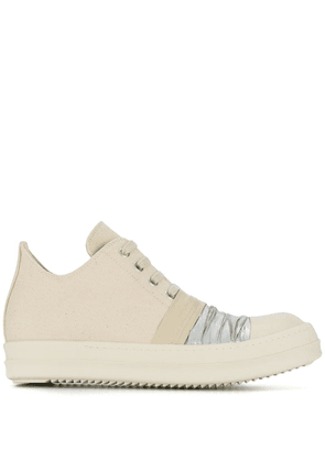 Rick Owens DRKSHDW lace-up low sneakers - Neutrals