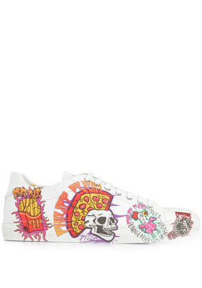Philipp Plein Pizza Boy sneakers - White