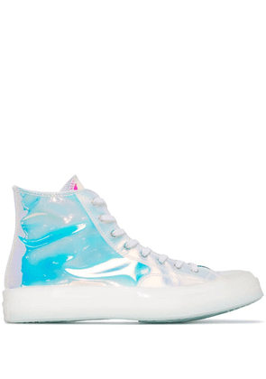 Converse Chuck holographic high-top sneakers - White
