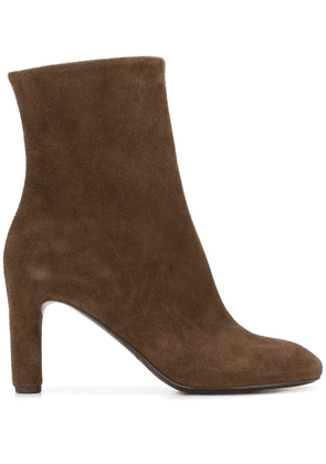 Del Carlo smooth ankle boots - Brown