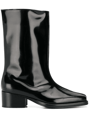 Y/Project low tubular boots - Black