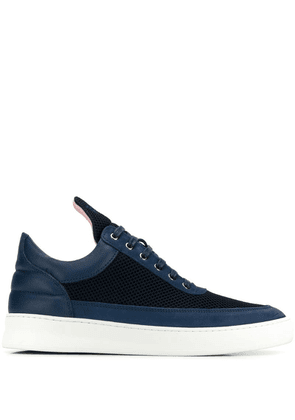 Filling Pieces panelled sneakers - Blue