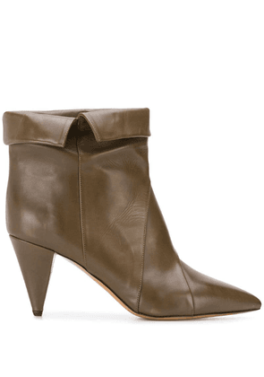 Isabel Marant Larel ankle boots - Green