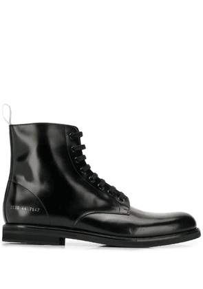 Common Projects lace-up ankle boots - Black