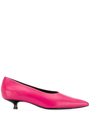 Dorateymur kitten heel pumps - Pink