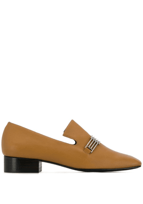 Dorateymur buckle embellished loafers - Brown