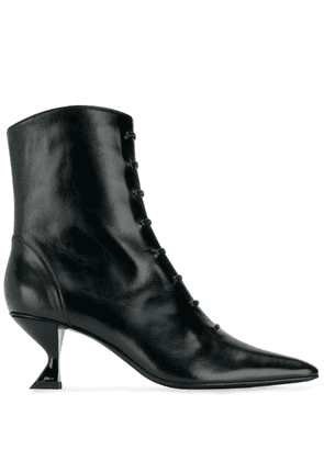 Dorateymur structured heel ankle boots - Black