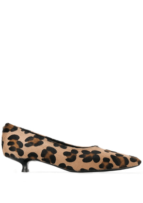 Dorateymur leopard print pumps - Brown