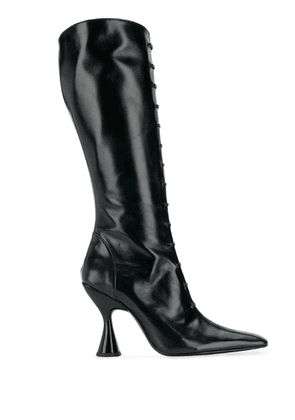 Dorateymur mid-calf pointed boots - Black