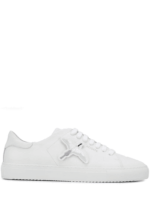 Axel Arigato bird patch low top sneakers - White