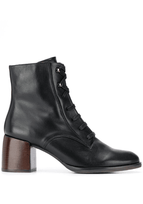Chie Mihara Omast lace-up ankle boots - Black