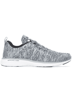 Apl woven lace-up sneakers - Grey