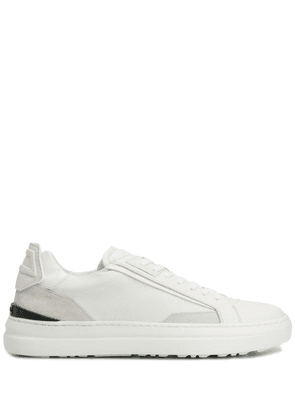 Buscemi panelled low-top sneakers - White