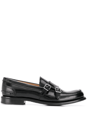 Church's double buckle loafers - Black