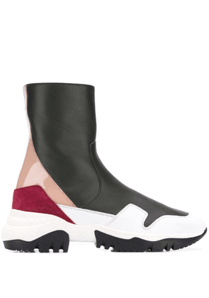 A.F.Vandevorst slip-on sneakers-style boots - White