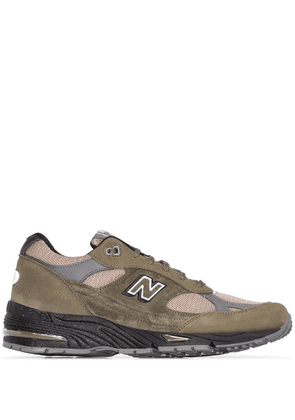 New Balance M991 low-top sneakers - Green