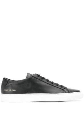 Common Projects 1658 low top sneakers - Black