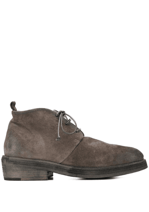Marsèll lace up ankle boots - Grey