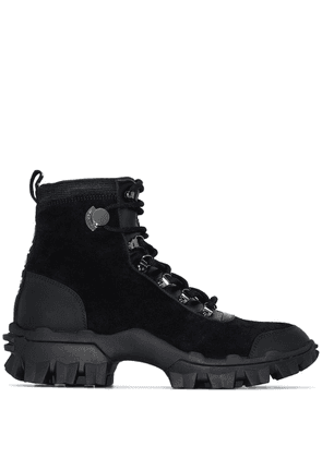 Moncler lace-up hiking boots - Black