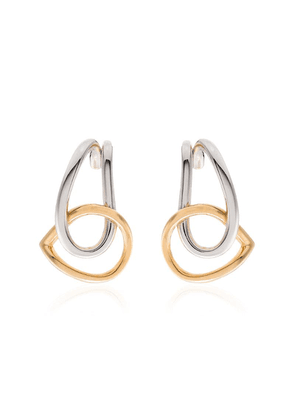 Charlotte Chesnais Blaue earrings - Gold