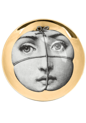 Fornasetti face tied bowl - Gold