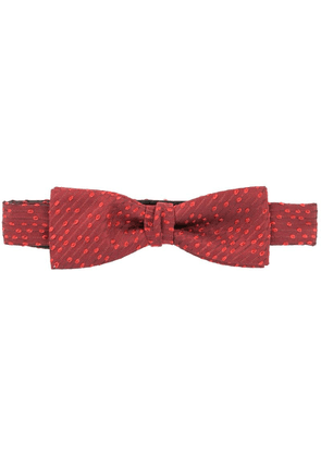 Cerruti 1881 spotted bow tie - Red