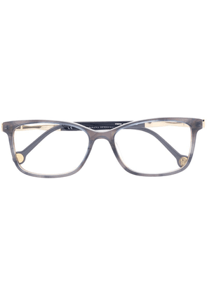 Ch Carolina Herrera rectangular glasses - Blue