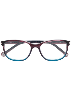 Ch Carolina Herrera cat-eye frame glasses - Purple