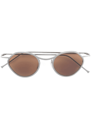 Delirious round frame sunglasses - Brown