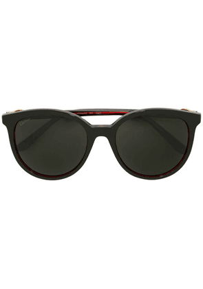 Cartier tinted oversized sunglasses - Black
