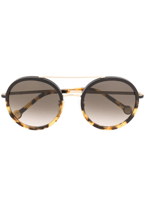 Ch Carolina Herrera round frame sunglasses - Brown
