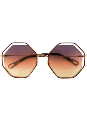 Chloé Eyewear Poppy sunglasses - Brown