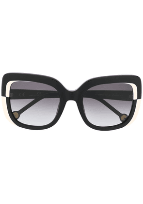 Ch Carolina Herrera cat eye sunglasses - Black